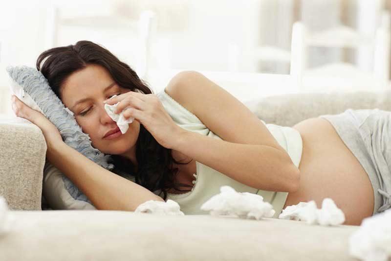 Что можно пить беременным при аллергии
