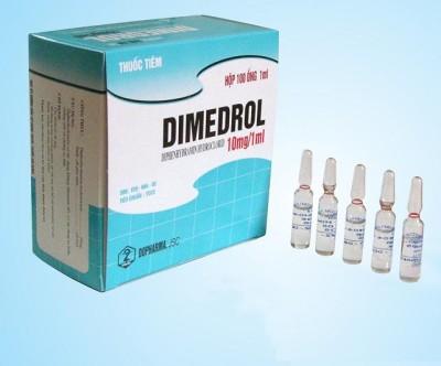 Димедрол в инъекциях