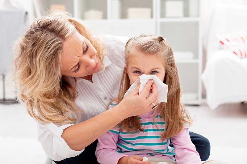 Аллергия у детей - виды, симптомы, лечение