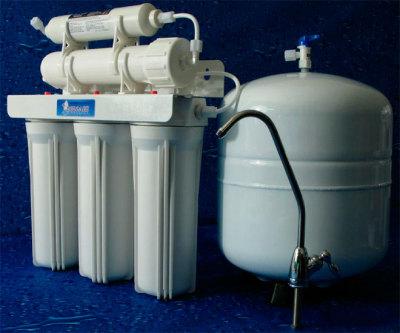 Удаляем хлор из воды с помощью фильтров