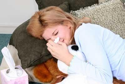 Симптомы при аллергии на попугаев