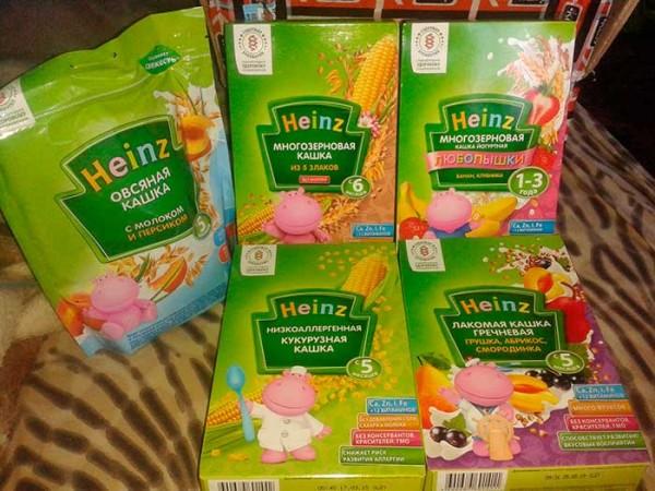 аллергия на каши Хайнц