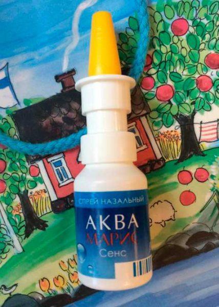 Аква Марис Сенс спрей при аллергии, инструкция по применению