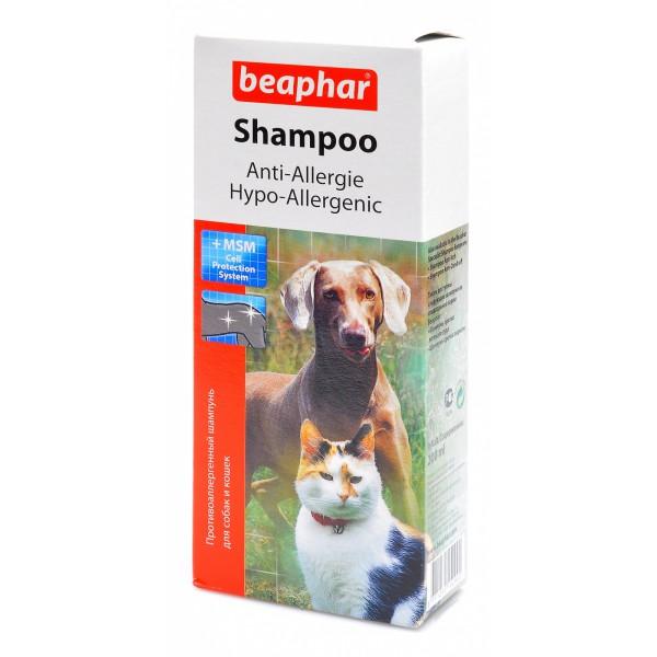 гипоаллергенный шампунь для собак и кошек