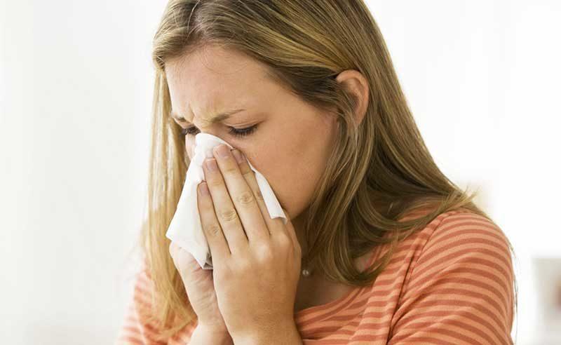 аллергия на парфюмерию