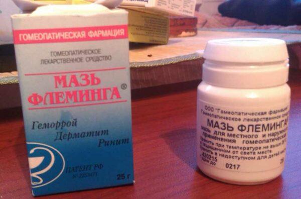 мазь флеминга при аллергии на дезодорант