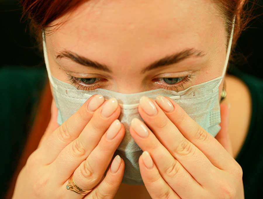 аллергия на маску