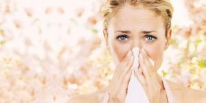 Заложенность носа во время аллергии