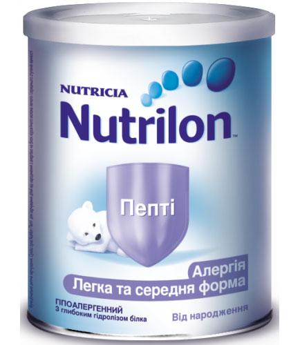 Нутрилон пепти аллергия, Легкая и средняя форма