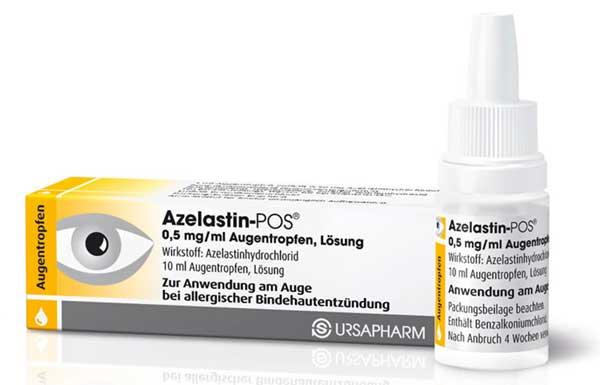азеластин глазные капли инструкция цена