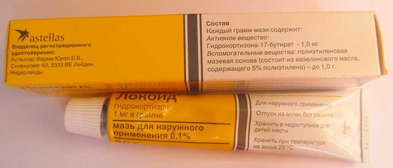 элоком при аллергии на лице