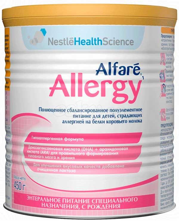 симилак при аллергии на коровье молоко